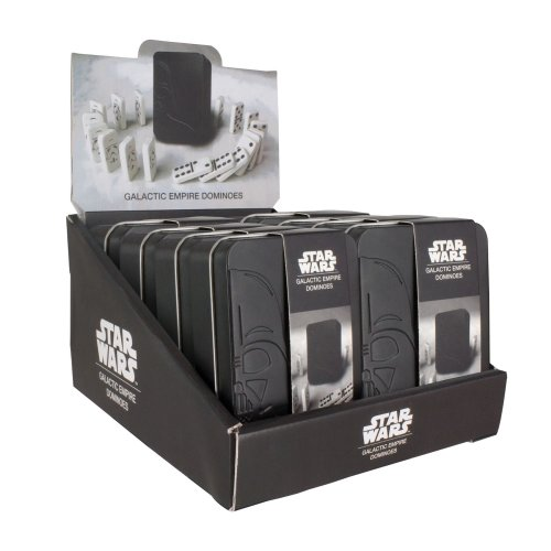 Star Wars Galactic Empire Dominoes and Collectable Tin