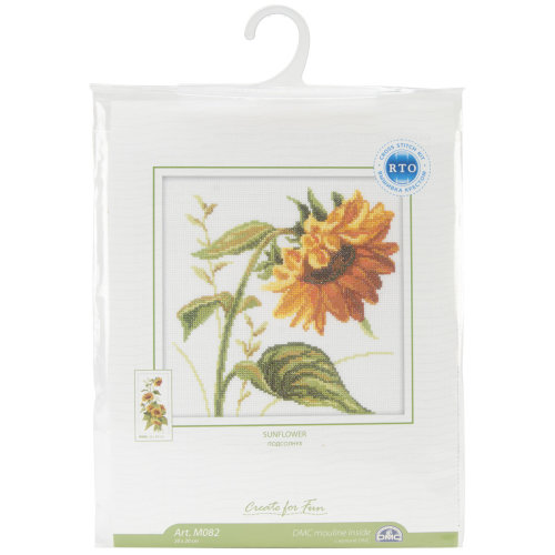 """Sunflowers Counted Cross Stitch Kit-8""""X8"""" 14 Count"""