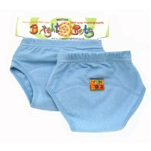 Bright Bots 2pk Washable Training Pants P/Blue