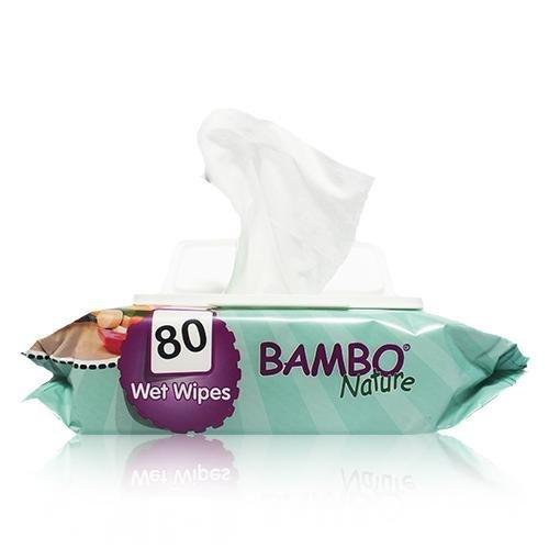 Bambo Nature | Baby Wipes | 12 x 80s