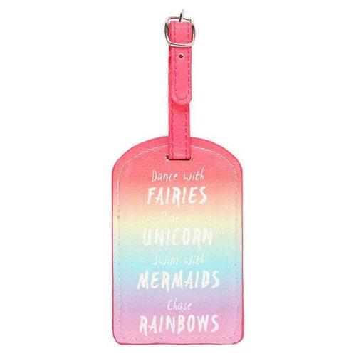 Something Different Rainbow Luggage Tag