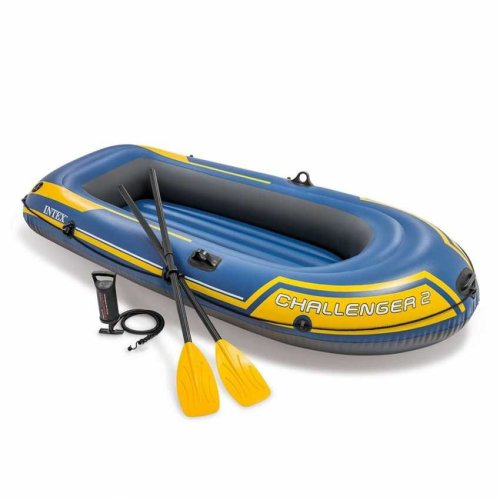 Intex 68367 Challenger 2 Inflatable Boat for Two People