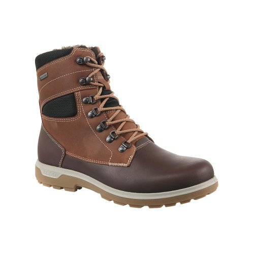 Ecco Whistler 83365450653 Mens Brown winter boots