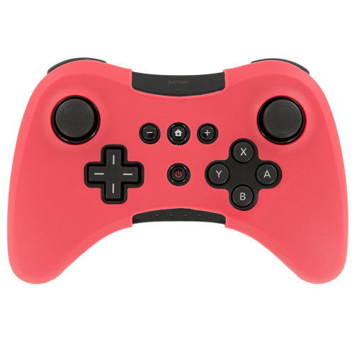 Protective cover for Wii U Nintendo pro Controller Silicone skin ZedLabz – Red