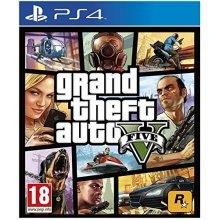 Take-Two Interactive Grand Theft Auto V, PS4 - video games (PS4, PlayStation 4, Action / Adventure,