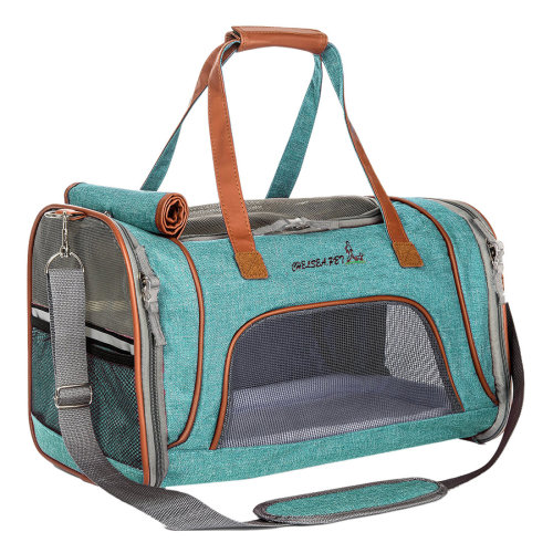 Snowflake Single Wing Pet  Travel Breathable Bag