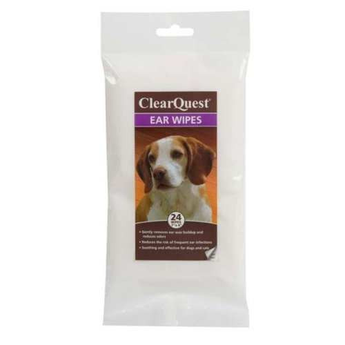 Clearquest US6227 24 Ear Wipes 24Pk Bag