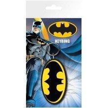 Batman Comic Logo Keyring