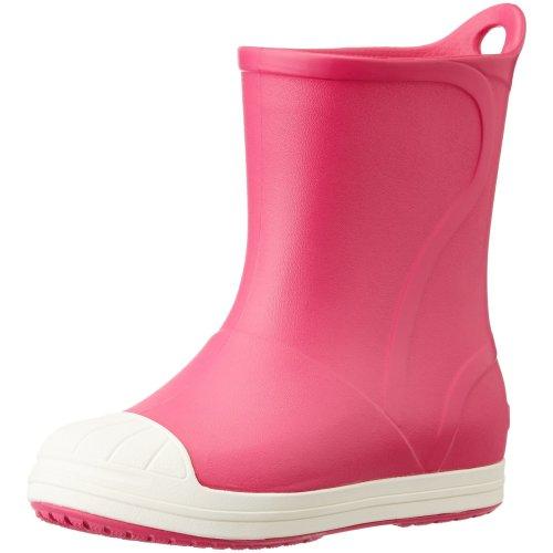 Crocs Bump It Boot Kids Rain (Candy Pink/Oyster), 6 UK Child (C6 US)