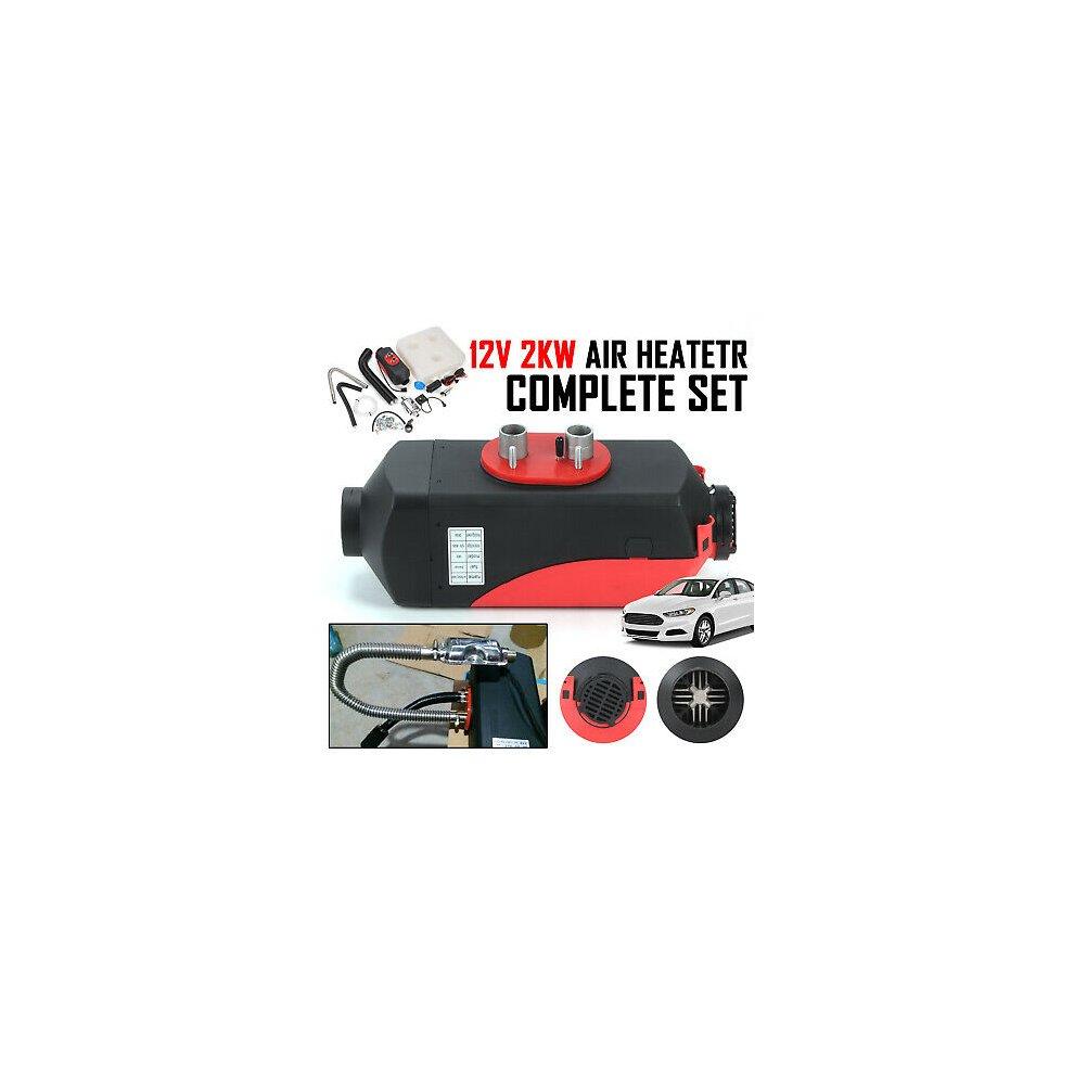 Trucks Motorhome Trailer Boats 2000W Knob UK 12V 2KW Diesel Air Heater for RV
