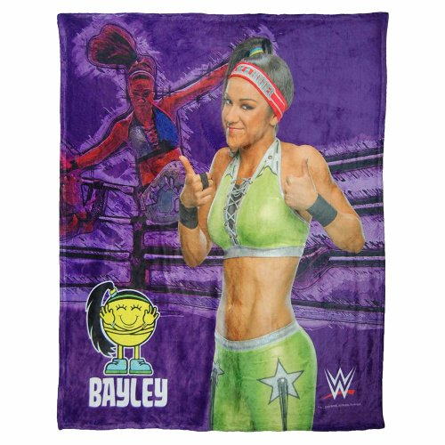 High Definition Super Soft Throws - WWE - Bayley New 085982