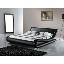 Leather Water Bed - Super King Size - Full Set - 6 ft /180 x 200 cm - AVIGNON