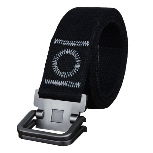 47inch 3.8cm Fashion Men\'s Canvas Belt Casual Wrist Strap Waistband Xmas Gift