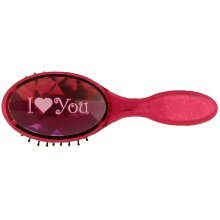 I Love You Bejewelled Hairbrush