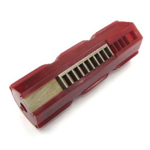 Airsoft Aeg Piston 10 Metal Teeth Lonex High Quality Extreme High Torque Red M4 V2
