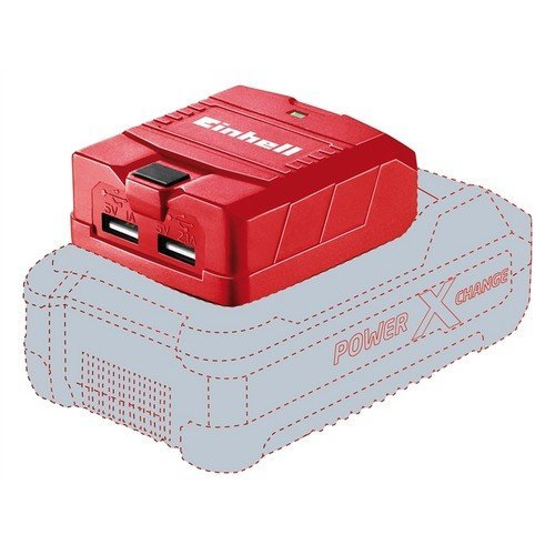 Einhell 45.141.20 TE-CP 18 LI USB-Solo Power X-Change Charger 18 Volt 1-2.1Ah Li-Ion
