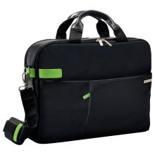"Leitz Smart Traveller 15.6"" Notebook briefcase Black,Green"