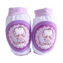 Summer Kids Knee Brace Cute Princess Baby Elbow Pads