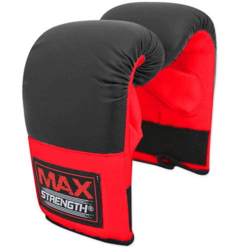 Boxing Gloves Punching Bag Mitts MMA Muay Thai Fight Training Senior