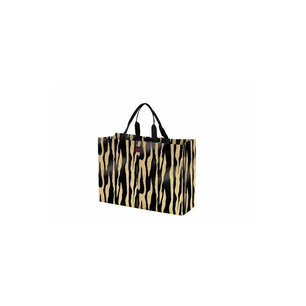 Joann Marie Designs P2LTMTIG Poly Large Tote - Metallic Tiger Pack of 6 on  OnBuy 3c8d4051c50b7