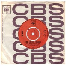 "7"" 45RPM Good Morning Starshine/Can't You See by Oliver from CBS (4435)"