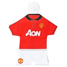 Manchester United Mini Kit Hanger - Official Licensed Football Product Car -  official licensed football product manchester united mini hanger car