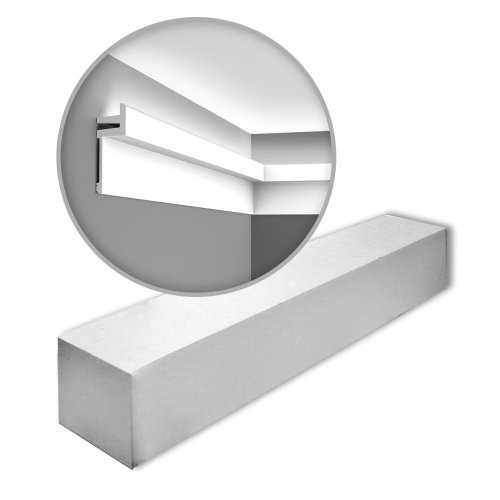 Orac Decor C382 MODERN L3 Cornice moulding 1 Box 12 pieces | 24 m