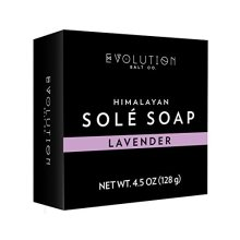 Evolution Salt Sole Bath Soap, Lavender, 4.5 Ounce