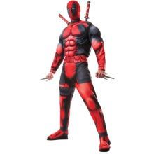 (Extra Large) Deluxe Adult Deadpool Costume