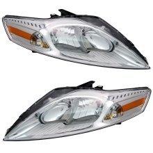 Ford Mondeo Mk4 6/2007-3/2011 Headlights Headlamps 1 Pair O/s & N/s