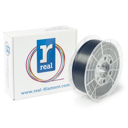 Real Filament 8719128329789 Real PETG, Spool of 1 kg, 1.75 mm, Shifting Blue