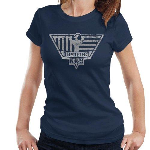 Blade Runner Inspired Rep Detect Logo Women's T-Shirt