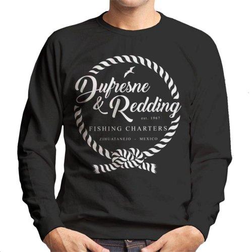 Dufresne And Redding Fishing Shawshank Redemption Men's Sweatshirt