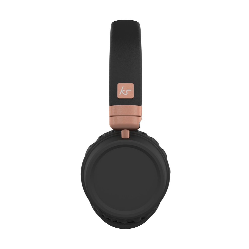 ac2bb4888a6ab1 ... KitSound Harlem Wireless Bluetooth On-Ear Headphones with Mic - Rose  Gold - 4 ...