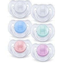 Philips Avent Scf170/22 Translucent Soothers (6-18 Months)
