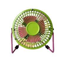 Mini Fan,Portable Fan, USB Fan, Desktop Fan(Green and Pink ,4INCH)