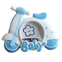 Cute Baby Photo Frame Home Decor for 2 Inch Photo [Bicycle]