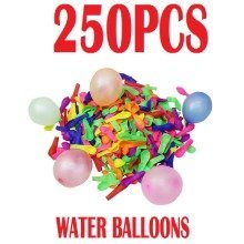 250 Water Bombs Balloons Summer Fun Soakers Party Outdoor Garden