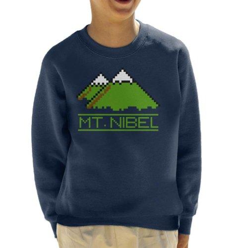 Pixel Mt Nibel Final Fantasy Kid's Sweatshirt