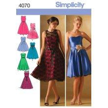 SIMPLICITY MISSES/MISS PETITE SPECIAL OC-6,8,10,12,14