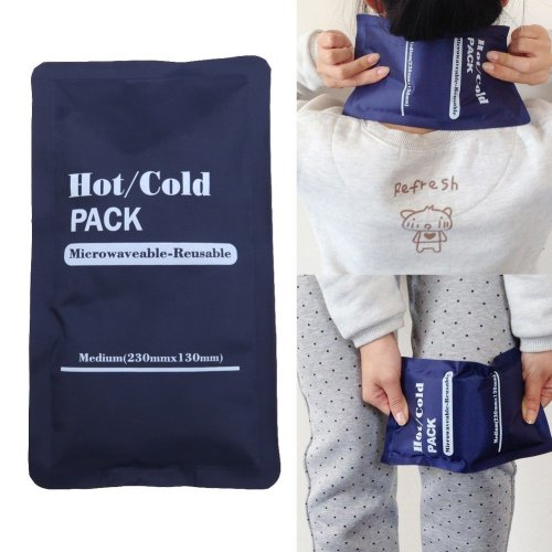 Microwaveable Reusable Hot Cold Packs Compress Physiotherapy Bag Muscle Back Relief Health Care