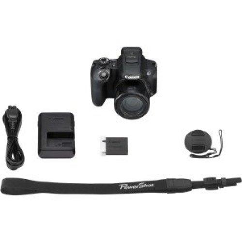 "Canon Powershot Sx70 Hs 20.3 Megapixel Bridge Camera Black 7.6 Cm 3"" Lcd 16 3071C011"