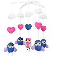 Colorful Decor Toy, Crib Toy, Musical Mobile, Baby Gift, Hanging Toys