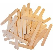 Pbx2470346 - Playbox - Wood Sticks - 150 X 18 Mm - 100 Pcs