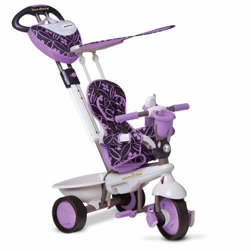 smarTrike 4 in 1 Dream Baby Tricycle for 1 Year Old, Purple