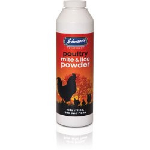 Poultry Mite & Lice Powder -  poultry mite powder lice johnsons 250g