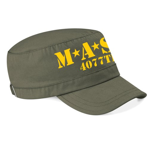 USA Cult Film TV MASH Army Style Cap