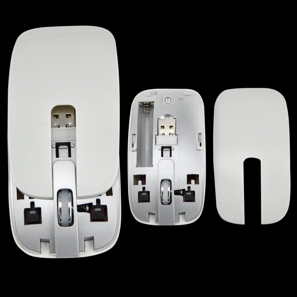 Trixes Slim Wireless Keyboard & Cordless Optical Mouse Set