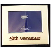 Celebration 40th Anniversary Frame by Shudehill giftware