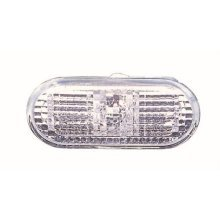 Volkswagen Polo 5 Door Hatchback  2002-2005 Indicator Lamp White Lens (Situated In Front Wing)